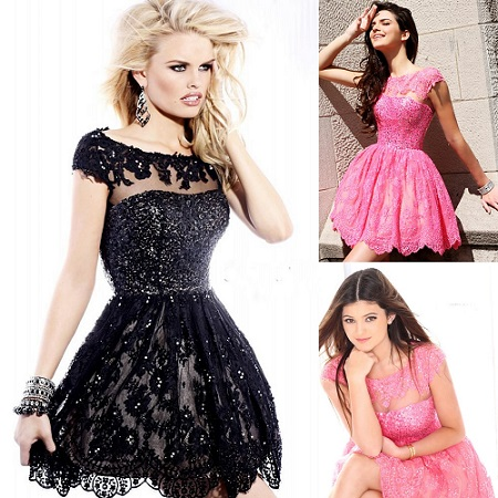 All About Lace Cocktail Dress