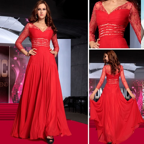 Why Long Sleeve Red Dress Creates A Lasting Impression