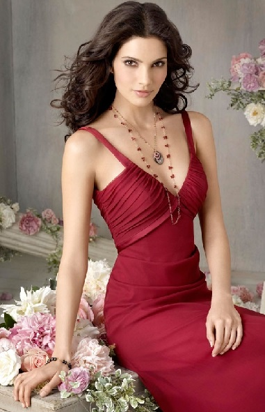 Cheap Sexy and Elegant Red Bridesmaid Dresses