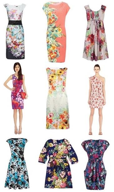 Get Floral Wedding Guest Dresses
