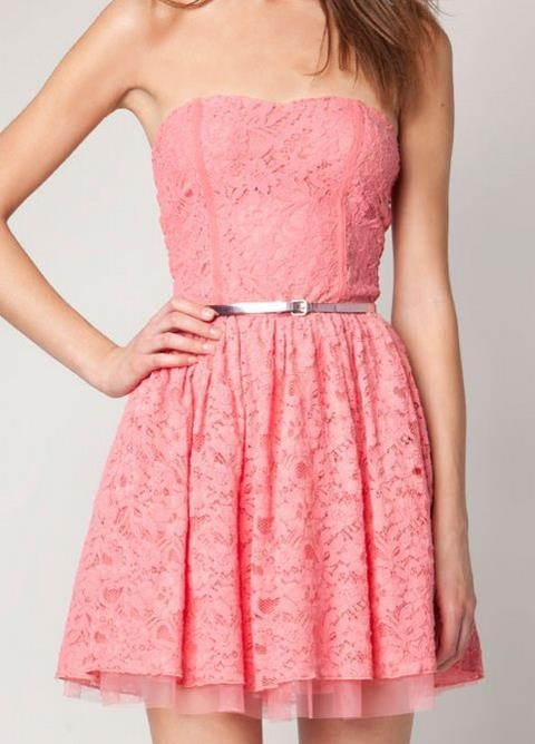 Pink Lace Dress: Varieties And Tips | Red Lace Dress