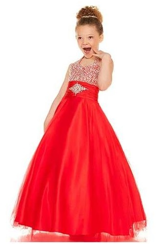 Look For Little Girls Red Dress