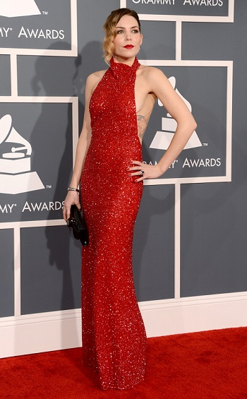 Natasha Bedingfield Red Carpet Dresses