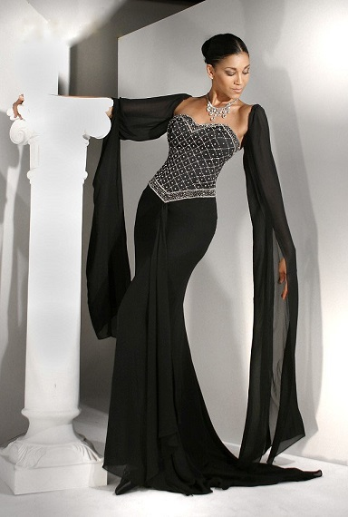 Sexy and Classy Long Black Evening Dresses
