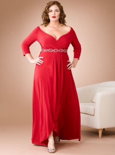 Shop for Plus Size Cocktail Dresses With Sleeves