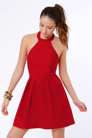 Effective Ways Of Choosing Red Clothes For Juniors | Red Lace Dress