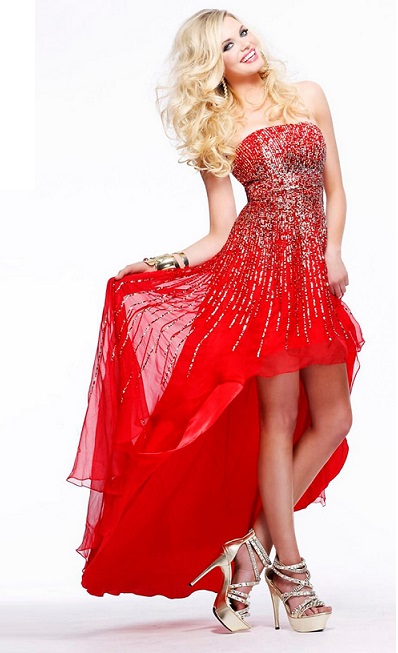 Red Prom Dresses For That Stunning Prom Queen