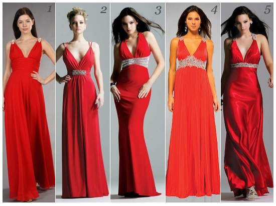 Top Selling Red Long Dress