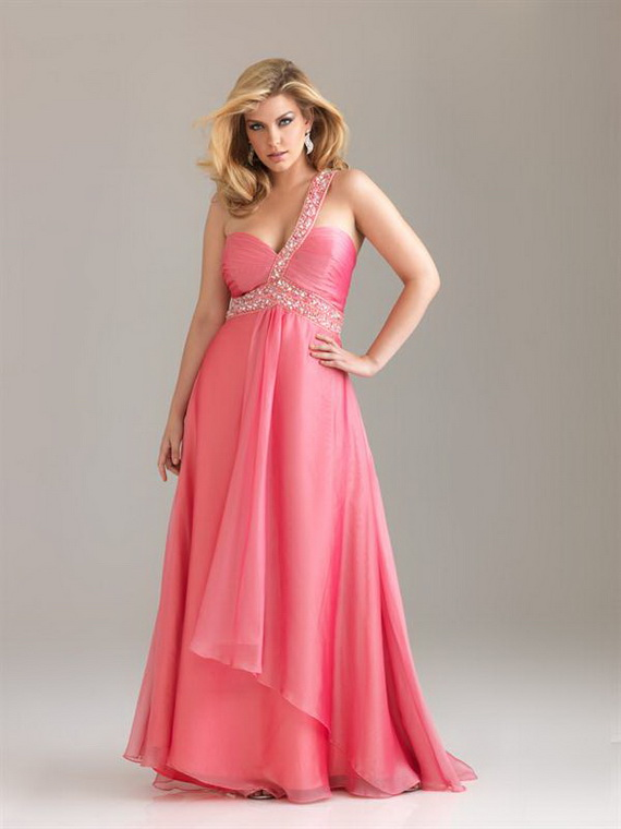 Luxury Pink Long Evening Dresses For Women