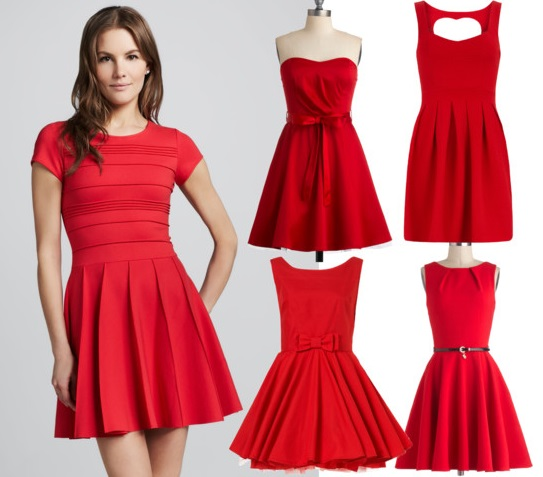 Cocktail Red Dresses