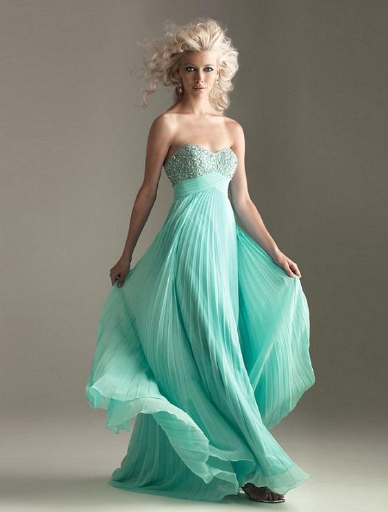 Cheap Light  Blue Bridesmaid Dresses