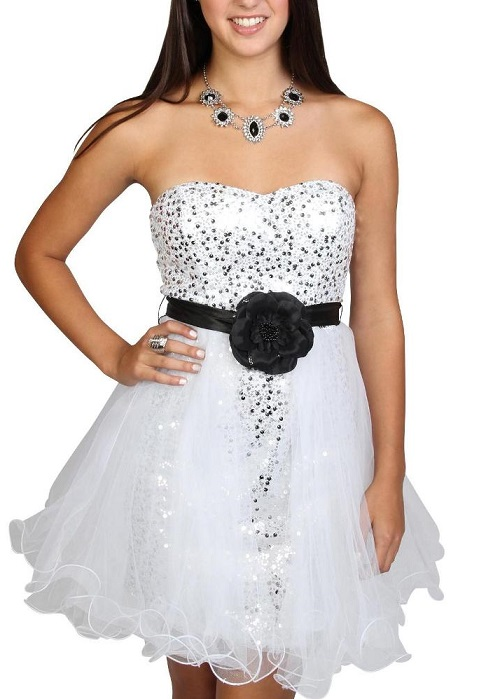 Find Cheap White Party Dresses For Juniors