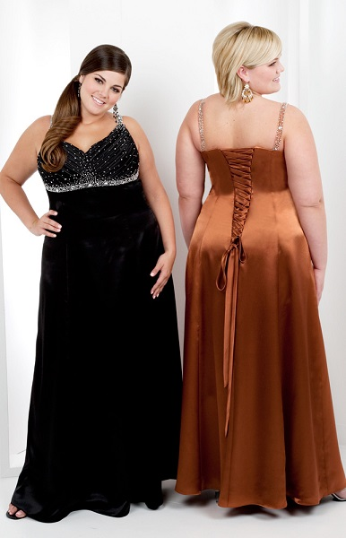 Formal Plus Size Evening Gowns