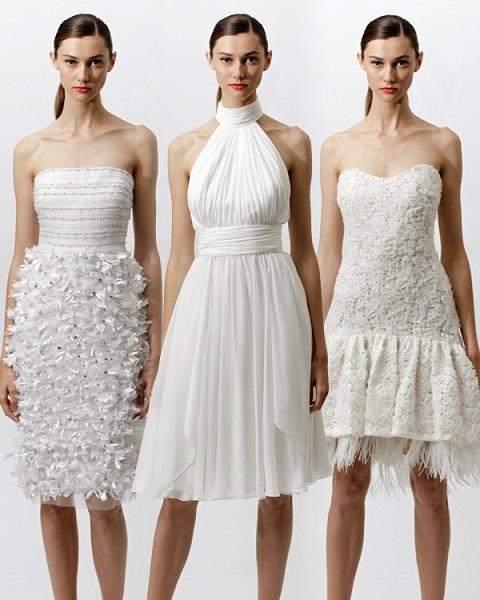 Glamarous White Dresses