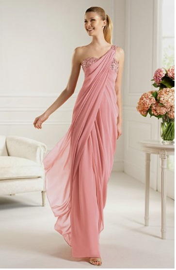 Pink Designer Evening Gowns