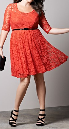 Plus Size Dresses Today – A Quick Discussion | Red Lace Dress