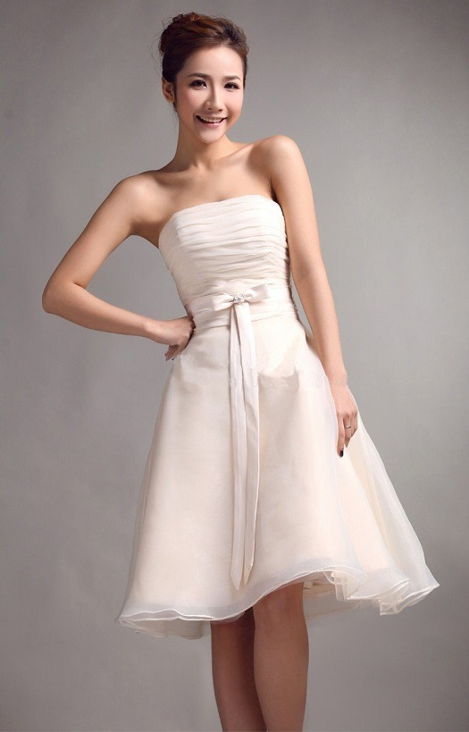Simple White Wedding Dresses For Cheap