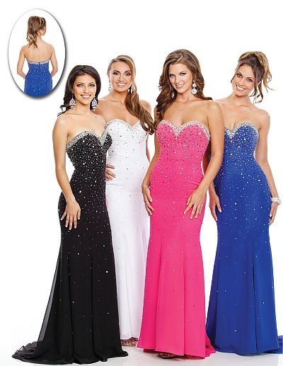 Stunning Fitted Prom Dresses