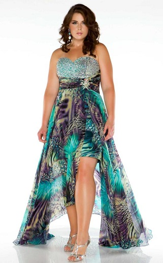 Stunning Plus Size Homecoming Dresses