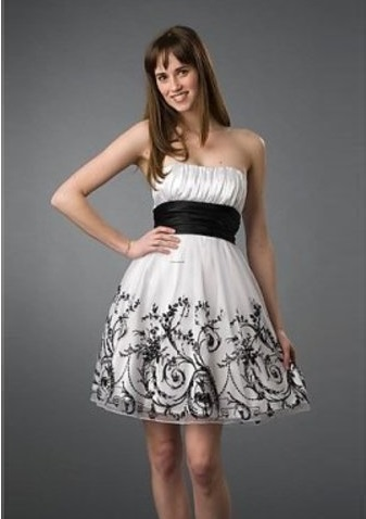 white dresses for graduation, white dresses, graduation dresses