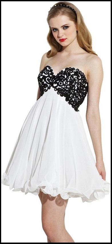 Unique White Cocktail Dresses